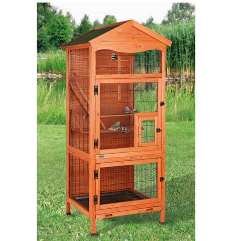 "Trixie Aviary Bird Cage - 71""h x 32""w x 31""d"
