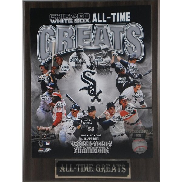Chicago White Sox 'All Time Greats' Plaque