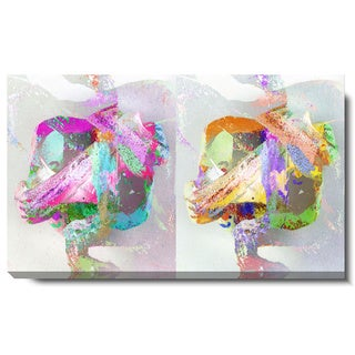 Studio Works Modern 'Pastel Double Gordian' Gallery Wrapped Canvas