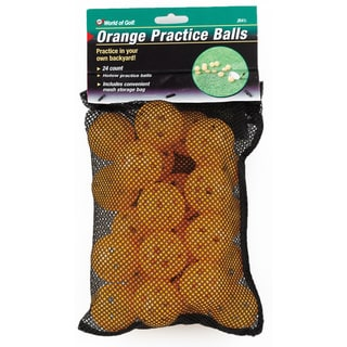 Jef World of Golf Orange Practice Balls