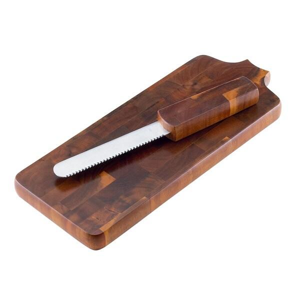 Dansk Belongings Bread Board and Knife