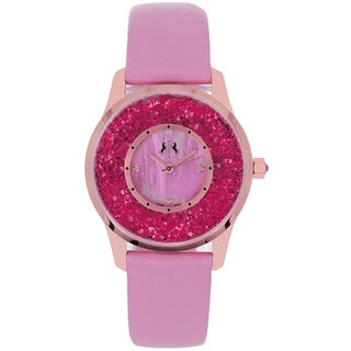 Jivago Women's Brilliance Pink Quartz Watch