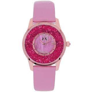 Jivago Women's Brilliance Pink Quartz Watch|https://ak1.ostkcdn.com/images/products/8270680/8270680/Jivago-Womens-Brilliance-Watch-P15593082.jpg?impolicy=medium