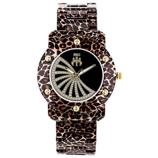 Jivago Women's Feline Watch with Black Dial