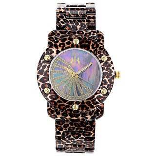 Jivago Women's Feline Watch with Purple Dial
