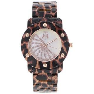 Jivago Women's Feline Stainless Steel Watch