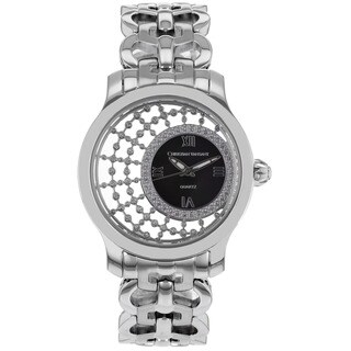 Chistian Van Sant Women's Delicate Black-dial Quartz Watch