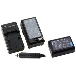 INSTEN Charger/ Battery Set for Sony NP-FW50/ NEX-5/ NEX-3/ NEX5/ NEX3