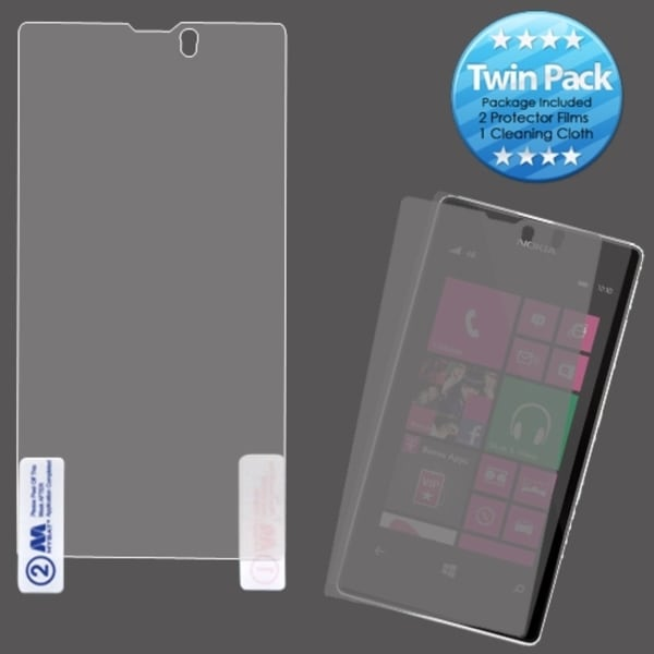 INSTEN Screen Protector Twin Pack for Nokia 521/ Lumia 521