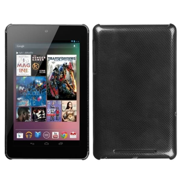 INSTEN Carbon Fiber Phone Case Cover for Google Nexus 7