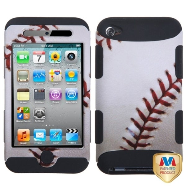 INSTEN Baseball Sports Collection TUFF iPod Case Cover for Apple iPod touch 4