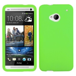 INSTEN Electric Green Skin Phone Case Cover for HTC One/ M7