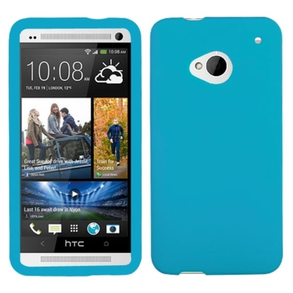 INSTEN Tropical Teal Skin Phone Case Cover for HTC One/ M7
