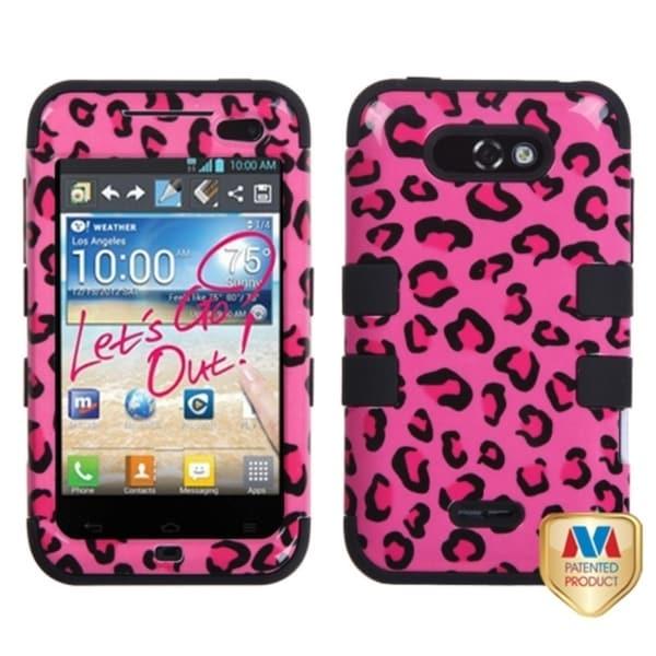 INSTEN TUFF Hybrid Phone Case Cover for LG MS770 Motion 4G/ LW770 Optimus Regard