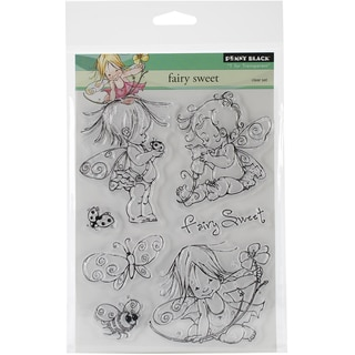 Penny Black Clear Stamps 5X6.5in Sheet-Fairy Sweet
