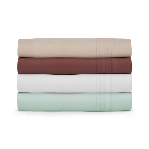 Pure Organic Cotton Pleated Sheet Set