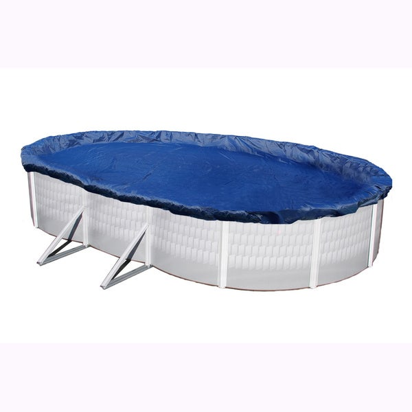 Blue Wave Gold 15-year Oval Above-ground Pool Winter Cover