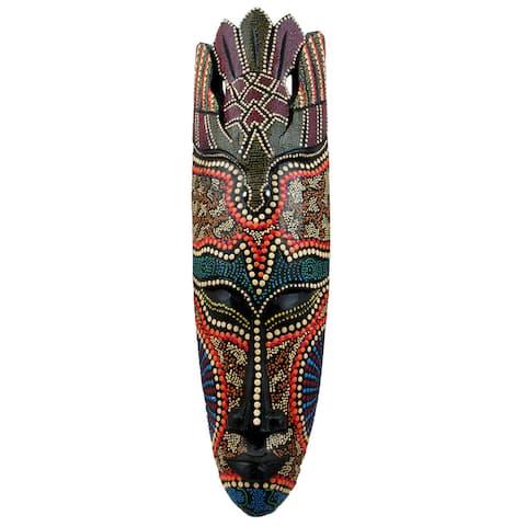 Handmade Topang Burung Mask (Indonesia)