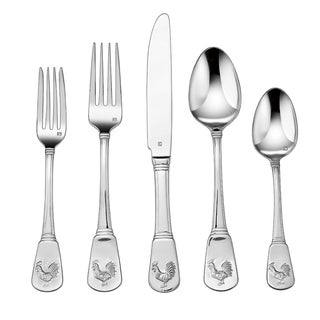 Cuisinart French Rooster 20-Piece Flatware Set