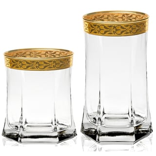 Lorren Home Trends Venezia 8-piece Beverage Set