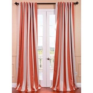 Exclusive Fabrics Savannah Stripe Blackout Curtain Panel Pair
