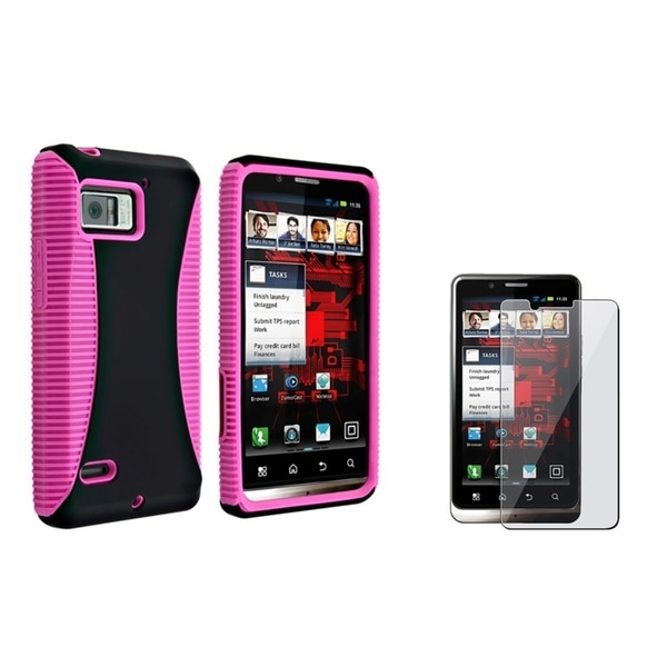 INSTEN Phone Case Cover/ Screen Protector for Motorola Droid Bionic XT875