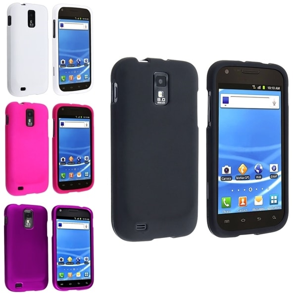 BasAcc 4-case Set for Samsung Galaxy SII / S2 Hercules SGH-T989