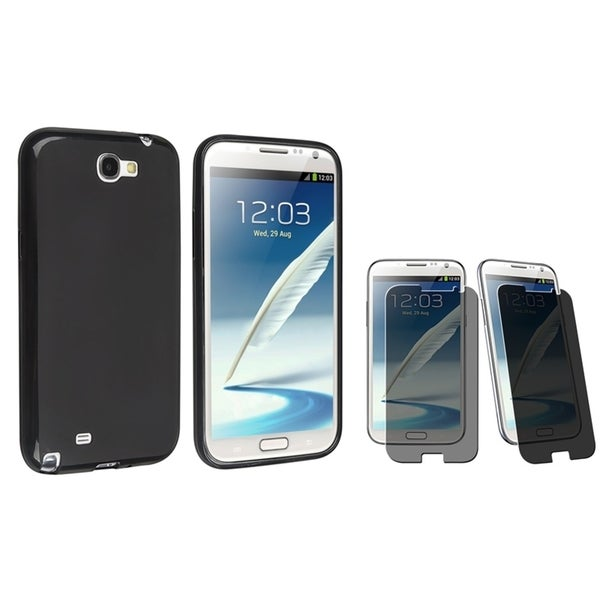 INSTEN Phone Case Cover/ Screen Protector for Samsung Galaxy Note II N7100