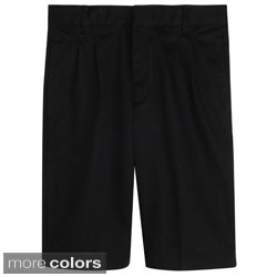 French Toast Boys Flat-front Adjustable Waist Shorts