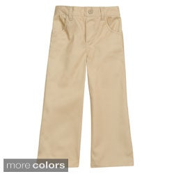 French Toast Toddler Girl's Pull-on Pants