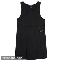 French Toast Girls Pleated Hem Jumper