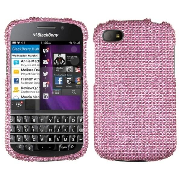 BasAcc Pink Diamante Case for Blackberry Q10