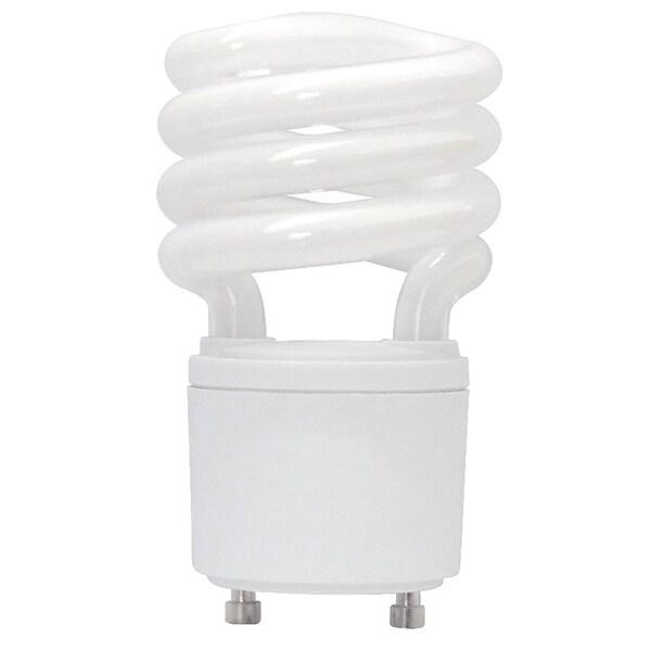 Goodlite Twist and Lock 13 Watt Replacement Mini Compact Fluorescent T2 Spiral Light Bulbs (Pack of 30)