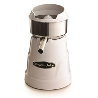 Omega White Professional Citrus Juicer