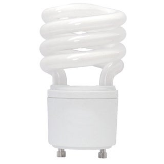 Goodlite Twist and Lock 18 Watt Replacement Mini Compact Fluorescent T2 Spiral Light Bulbs (Pack of 30)