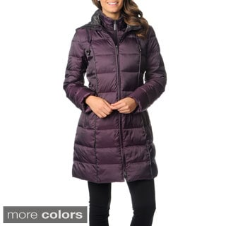 Nautica Women's Walker-length Down Coat