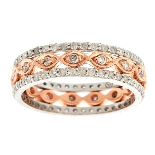 Beverly Hills Charm 10k Gold 7/8ct TDW Fashion Diamond Ring