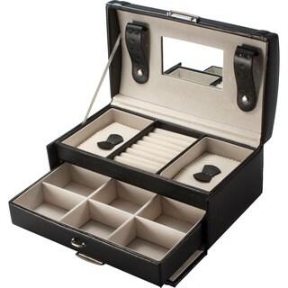 Cheri Bliss Black Velvet-lined Jewelry Box