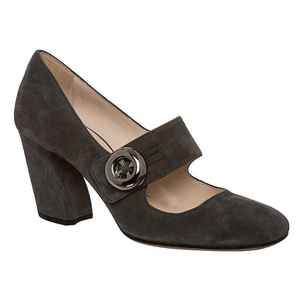 Prada Women's Suede 'Easy' Mary Jane Pumps