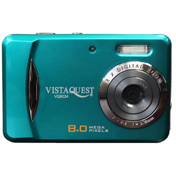 "VISTAQUEST VQ8224A 2.4"" 8MP Digital Camera and Video Camcorder"