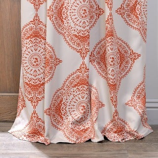 Exclusive Fabrics Moroccan Blackout Curtain Panel Pair