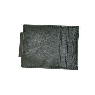 Hollywood Tag Cowhide Leather Money Clip