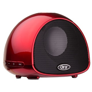 QFX BT-100 Bluetooth Wireless Portable Speaker with built-in Microphone