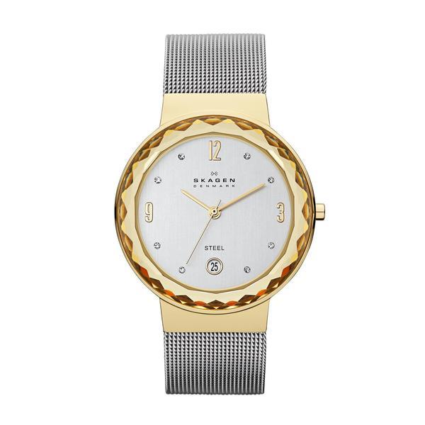 Skagen Women's Leonora SKW2002 Silver Stainless-Steel Quartz Watch