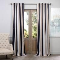 Exclusive Fabrics Georgetown Stripe Blackout Curtain Panel Pair