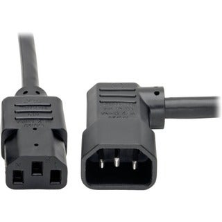 Tripp Lite 10ft Power Cord Extension Cable Left Angle C14 to C13 Heav