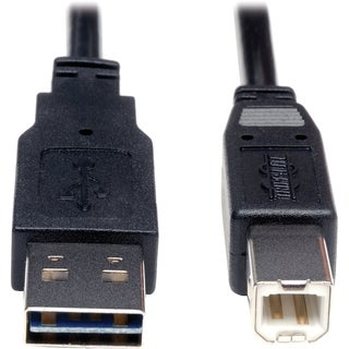 Tripp Lite 3ft USB 2.0 High Speed Cable Reverisble A to B M/M