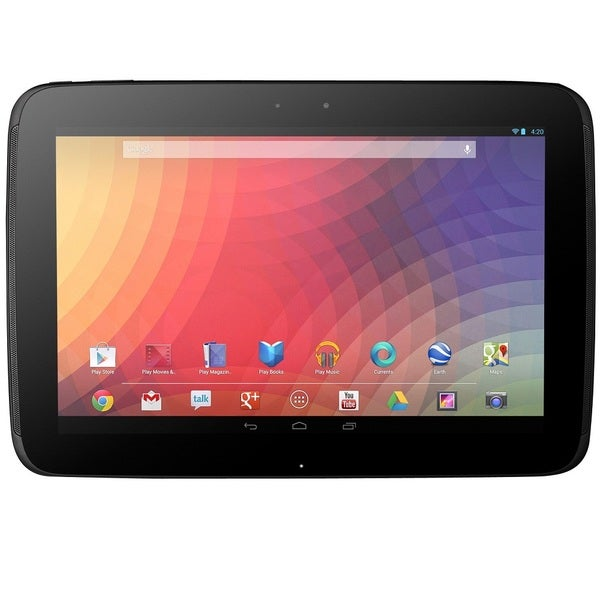 "Google Nexus 10 P5113TSYXAR 32 GB Tablet - 10.1"" - ARM Cortex A15 1."