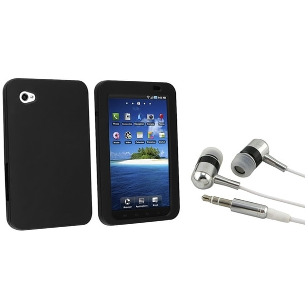 BasAcc Headset/ Silicone Case for Samsung P1000 Galaxy Tab