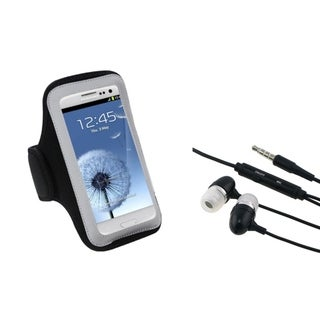 INSTEN Universal Headset/ Black Armband for Cell Phones